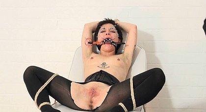 Hardcore Bondage For Slave Mei