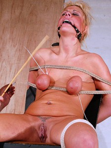 Merciless electro torture of chubby nimue allen in crying - 2 part 8