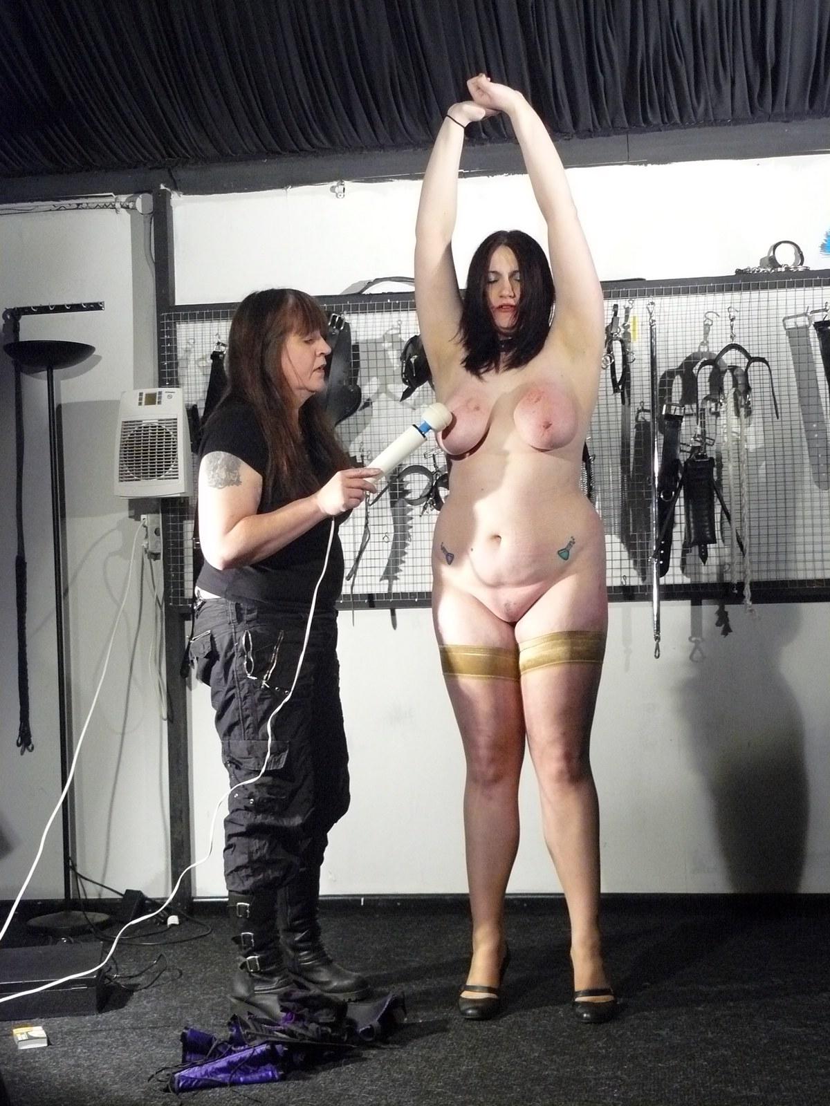 Bizarre fat slave punishment and homemade tools bdsm 7